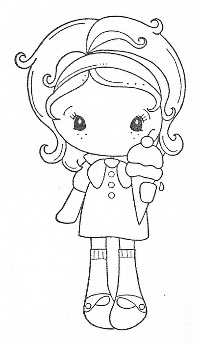 девочка с мороженным (406x700, 214Kb)
