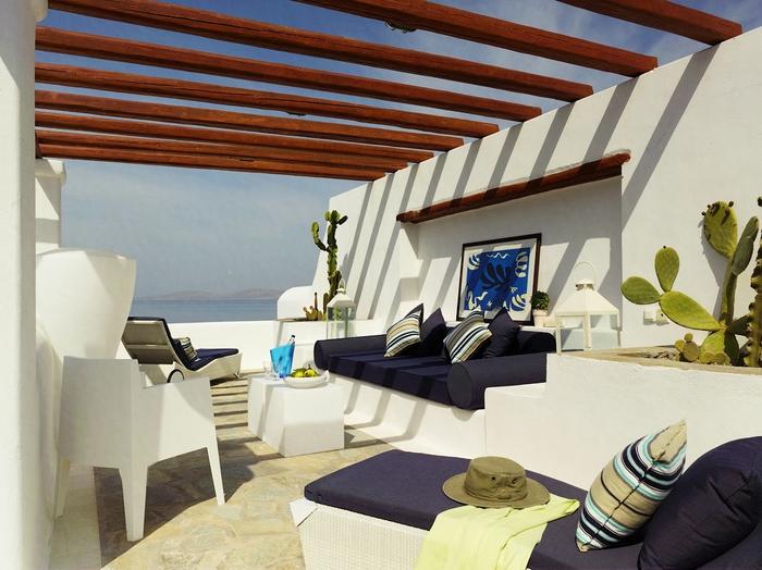пятизвездочный отель на острове миконов греция