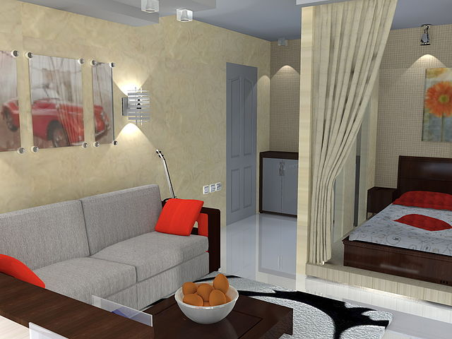 Дизайн интерьера квартир малогабаритных фото