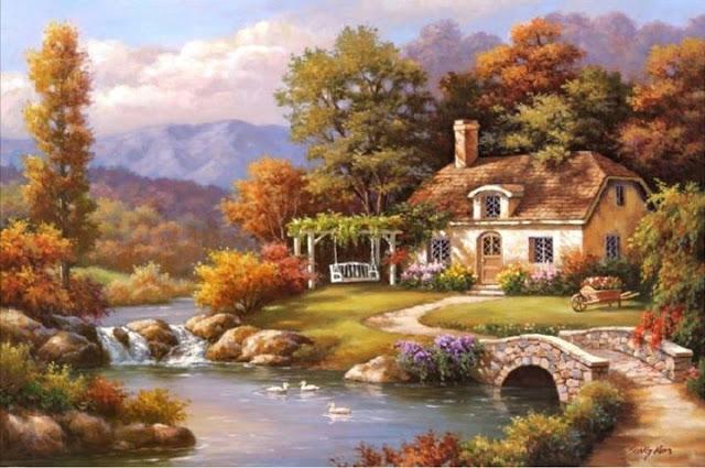 Райское наслаждение от Sung Kim 1940 - South Korea. ПЕЙЗАЖИ (7) (640x425, 206Kb)