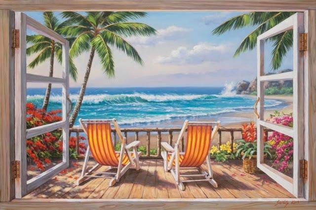 Райское наслаждение от Sung Kim 1940 - South Korea. ПЕЙЗАЖИ (13) (640x426, 218Kb)