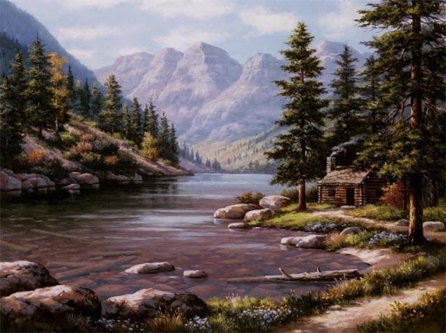 Райское наслаждение от Sung Kim 1940 - South Korea. ПЕЙЗАЖИ (17) (640x477, 230Kb)