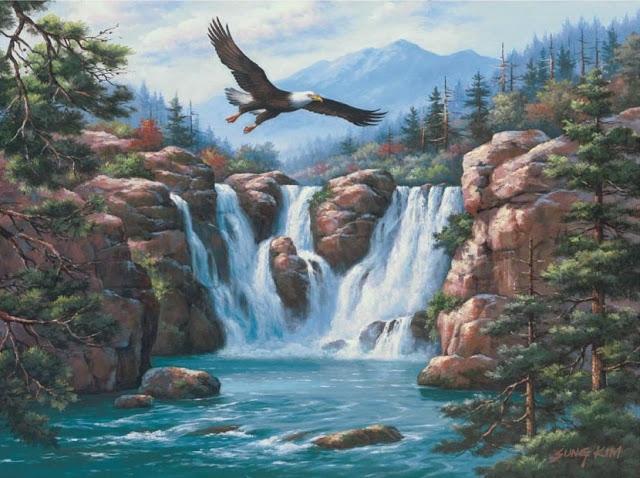 Райское наслаждение от Sung Kim 1940 - South Korea. ПЕЙЗАЖИ (19) (640x478, 242Kb)