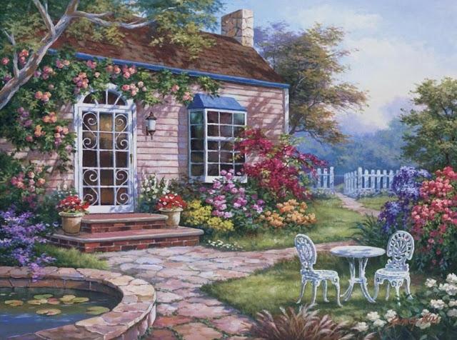 Райское наслаждение от Sung Kim 1940 - South Korea. ПЕЙЗАЖИ (33) (640x476, 288Kb)