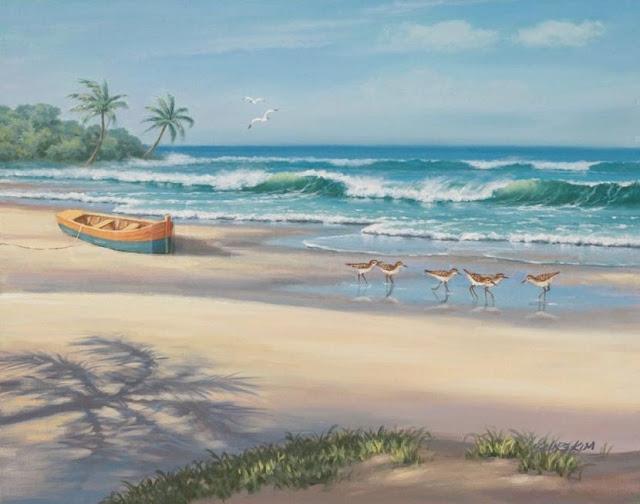 Райское наслаждение от Sung Kim 1940 - South Korea. ПЕЙЗАЖИ (41) (640x504, 165Kb)