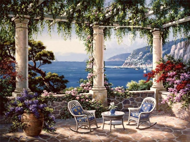 Райское наслаждение от Sung Kim 1940 - South Korea. ПЕЙЗАЖИ (43) (640x481, 339Kb)