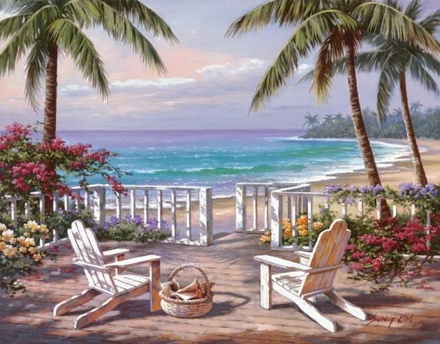 Райское наслаждение от Sung Kim 1940 - South Korea. ПЕЙЗАЖИ (47) (640x500, 274Kb)