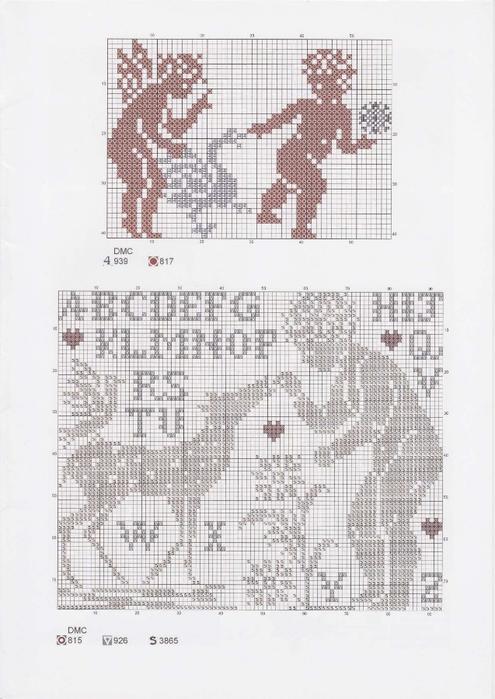 Вышиваем крестиком. МОНОГРАММЫ С АНГЕЛАМИ (3) (495x700, 211Kb)