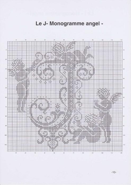 Вышиваем крестиком. МОНОГРАММЫ С АНГЕЛАМИ (13) (495x700, 199Kb)