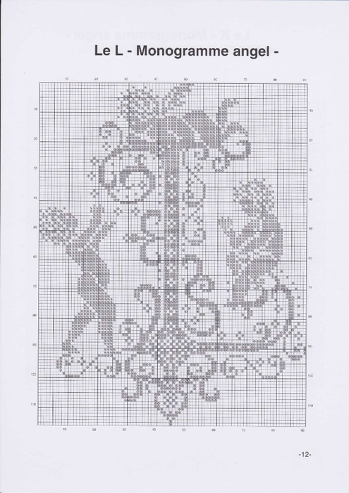 Вышиваем крестиком. МОНОГРАММЫ С АНГЕЛАМИ (15) (495x700, 193Kb)