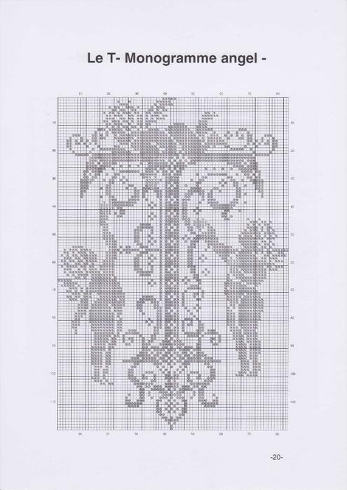 Вышиваем крестиком. МОНОГРАММЫ С АНГЕЛАМИ (23) (495x700, 172Kb)