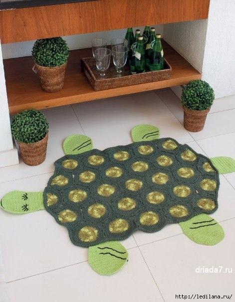 Коврик Черепаха (471x604, 171Kb)