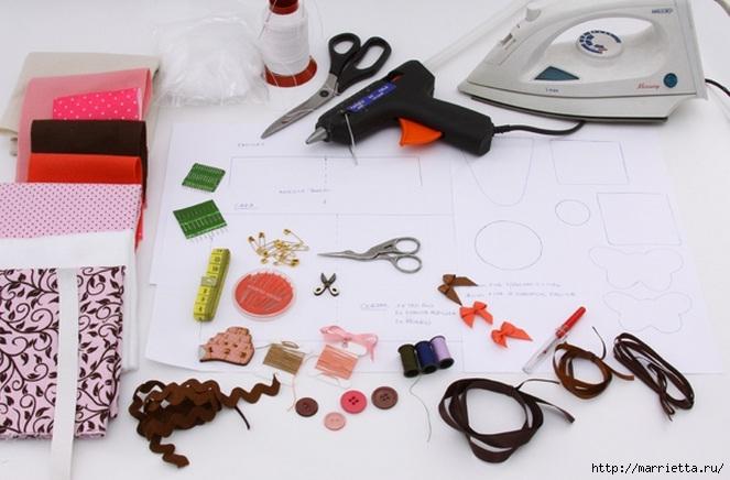 Книжечка - органайзер для швейных принадлежностей. Шьем сами (3) (663x436, 167Kb)