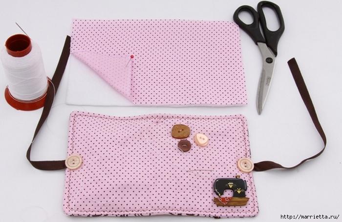 Книжечка - органайзер для швейных принадлежностей. Шьем сами (5) (700x455, 226Kb)