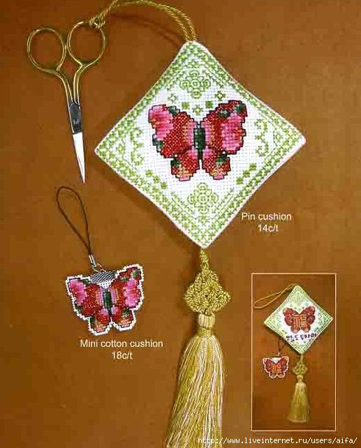 Вышивка крестом, схемы Маячки
