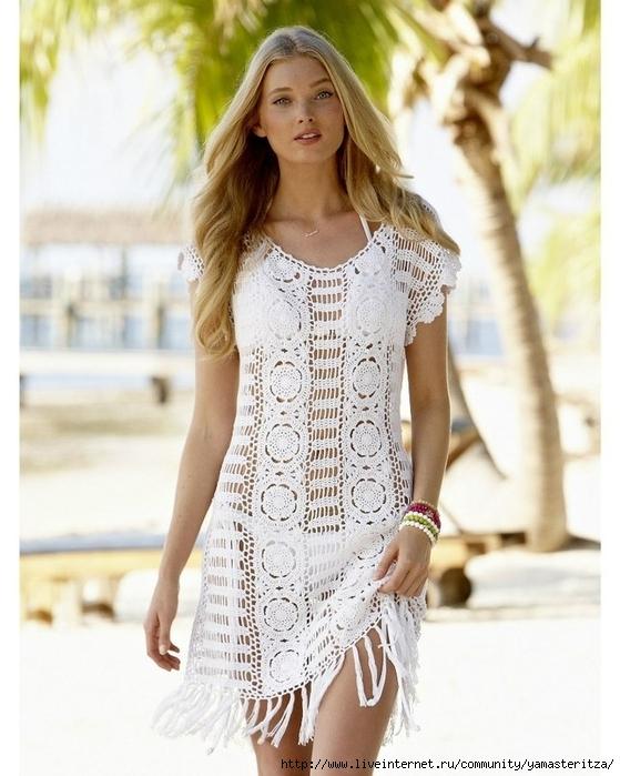платье крючком (559x700, 265Kb)