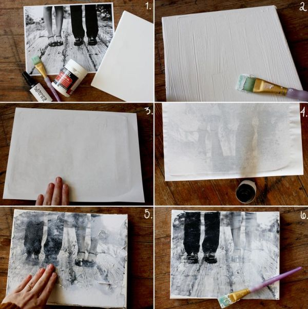 Как сделать холст для рисования