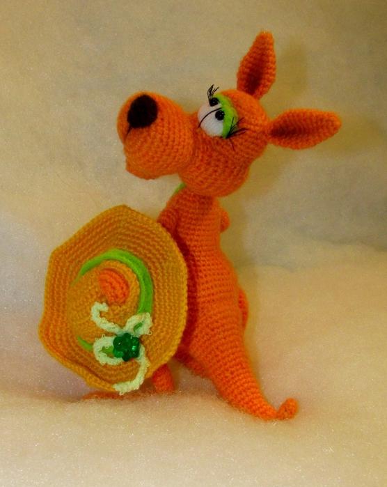 кенгуру вязанная
