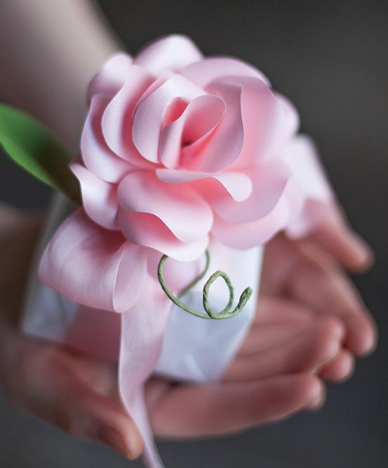 Розы из бумаги. Готовые шаблоны для распечатки (12) (553x666, 678Kb)