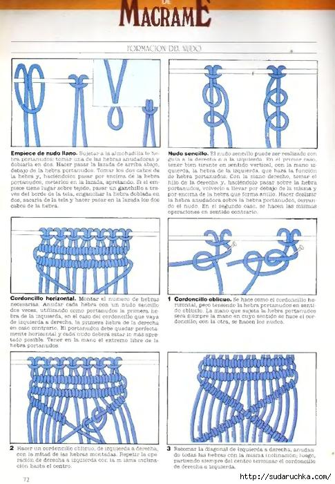 Escuela de artesania.  Macrame - 1992_9 (485x700, 272Kb) .