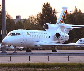 Австрия - обыск самолёта президента Боливиии (295x249, 40Kb)