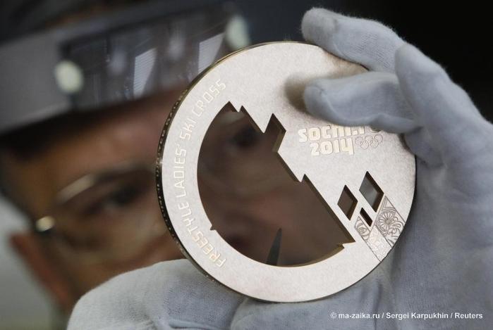 Олимпийские медали для 'Сочи-2014'