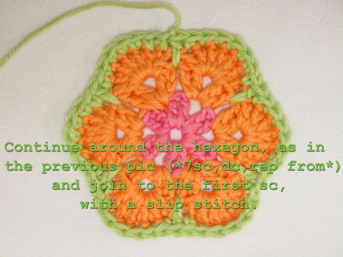 Цветочный фрагмент крючком АФРИКАНСКИЙ ЦВЕТОК для вязания игрушек (53) (700x525, 265Kb)