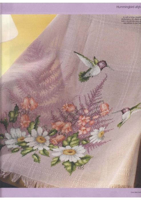 Схемы для вышивки пледа