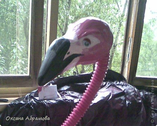 Фламинго своими руками из пластиковых бутылок мастер класс