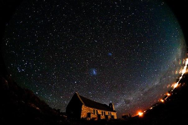 ночь картинка красивая