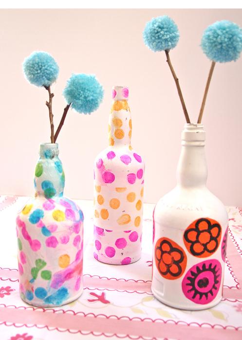 бутылки-вазы (497x700, 394Kb)