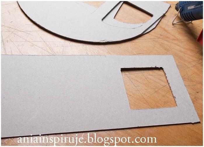 Сказочная карета из картона, проволоки и палочек от мороженого. Мастер-класс (15) (700x502, 223Kb)