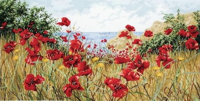 Stitchart-Clifftop-Poppies0 (684x345, 211Kb)