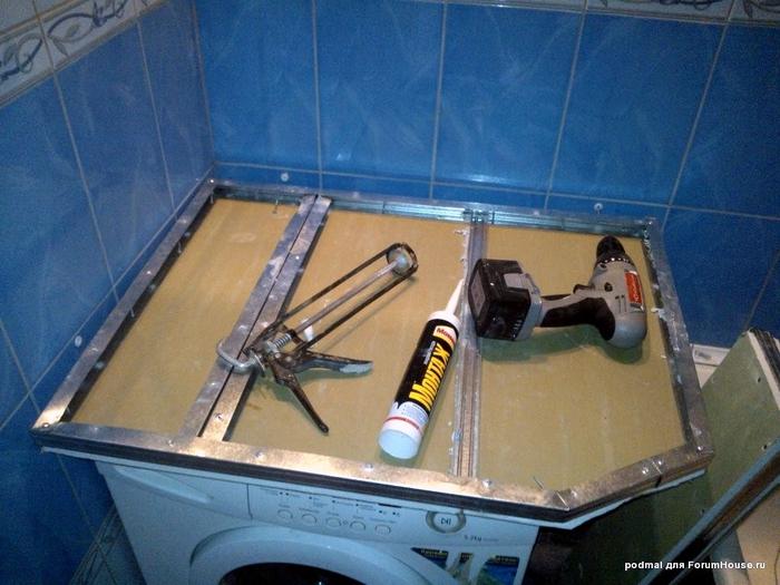 Как сделать мойку из керамической плитки