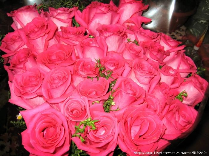 Фото букетов роз больших