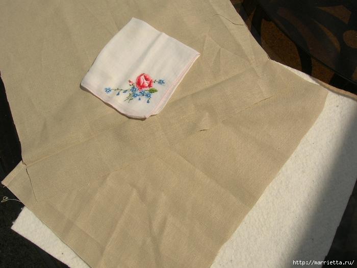 подушки из носового платка