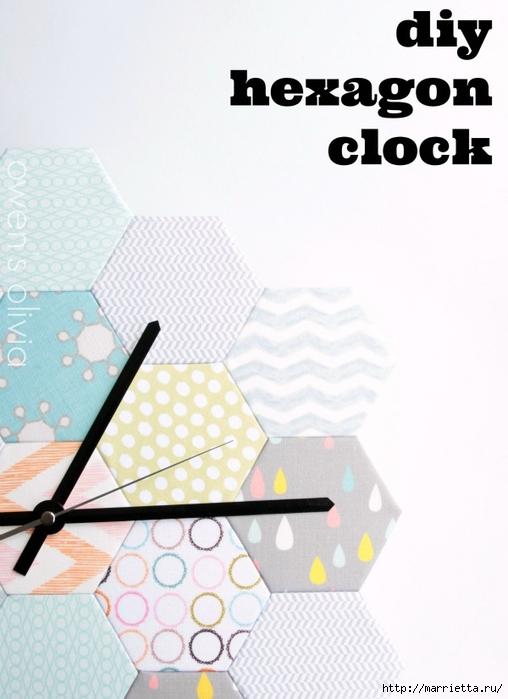 Часы из картона и другие креативные идеи в интерьере (12) (508x700, 192Kb)
