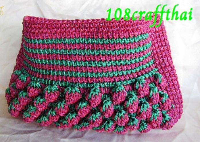 Тунисское вязание.