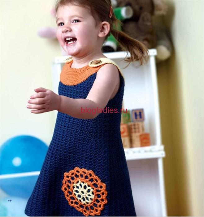Платье для девочки (659x699, 90Kb)