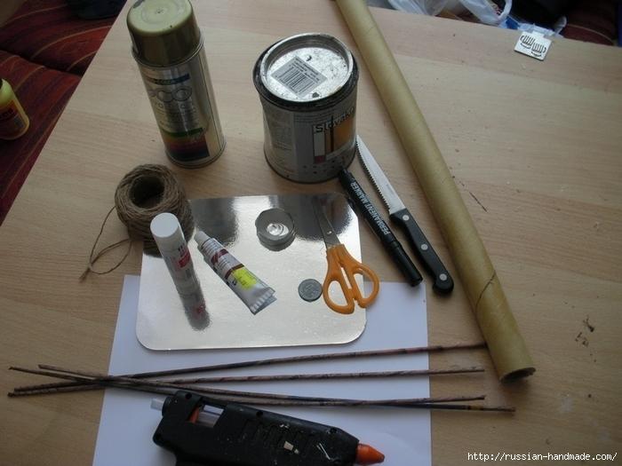 Как сделать винтажный свиток из бумаги (4) (700x525, 250Kb)