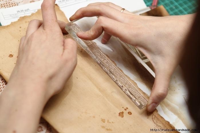Как сделать винтажный свиток из бумаги (20) (700x466, 200Kb)