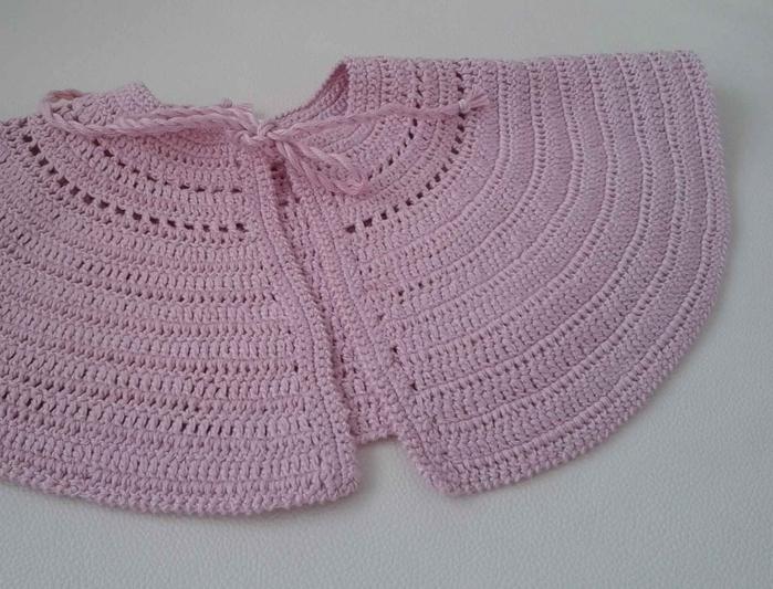 розовая шляпка крючком для девочки (2) (700x533, 268Kb)
