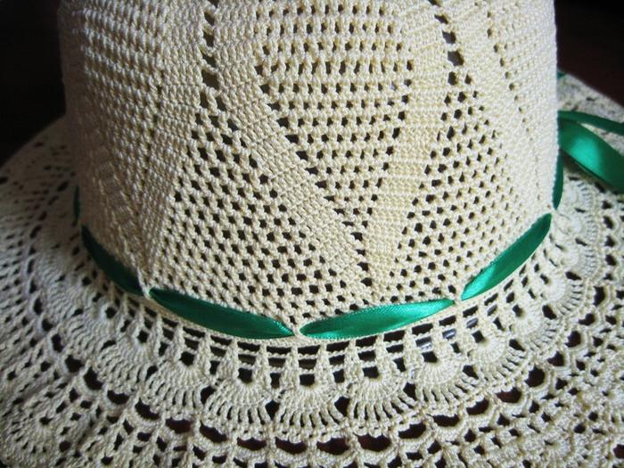 一顶夏季帽子教程 - yyqun2000 - yyqun2000的博客