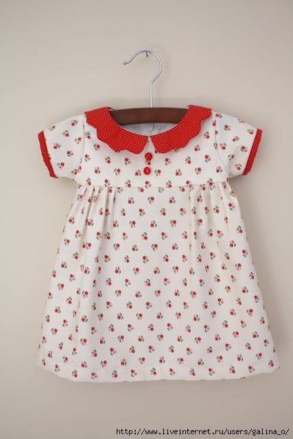 Пошив платья на малышку