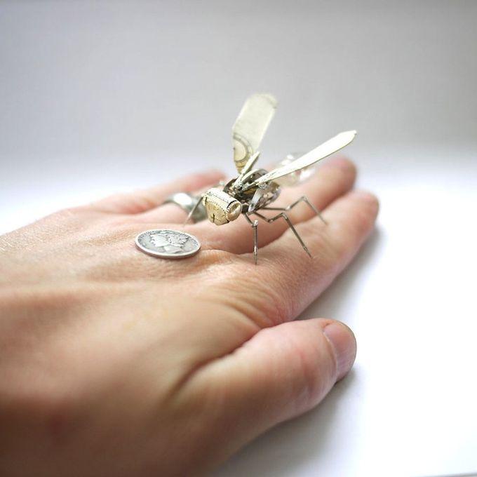 миниатюрные насекомые Джастин Гершензон-Гейтс (680x680, 108Kb)
