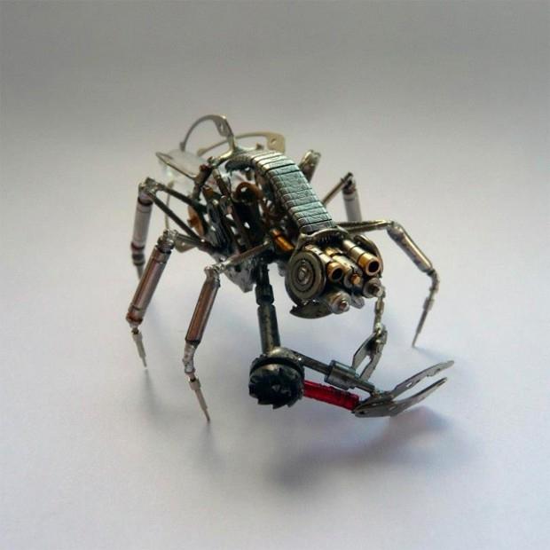 миниатюрные насекомые Джастин Гершензон-Гейтс  7 (620x620, 147Kb)