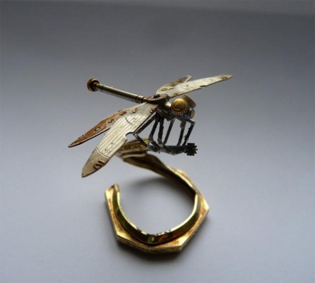 миниатюрные насекомые Джастин Гершензон-Гейтс  9 (620x558, 115Kb)