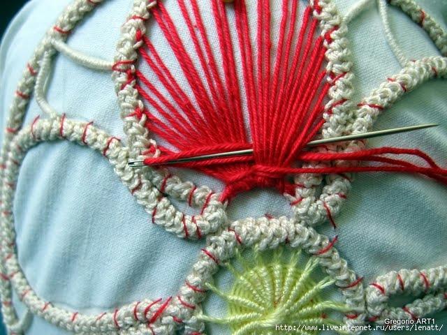 罗马尼亚花边:针织技术 3 - maomao - 我随心动