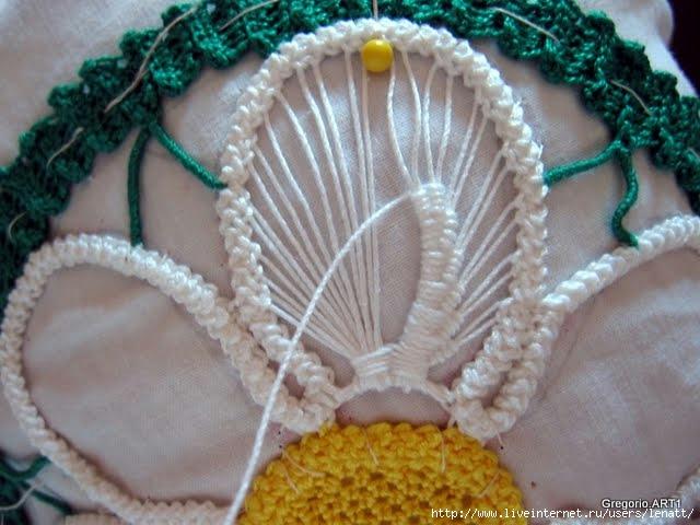罗马尼亚花边:针织技术 4 - maomao - 我随心动