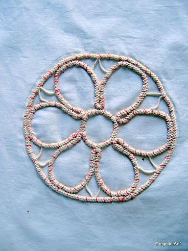 罗马尼亚花边:针织技术 5 - maomao - 我随心动
